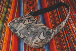 Incan Design Handbag - Natural - Tukuru Textiles