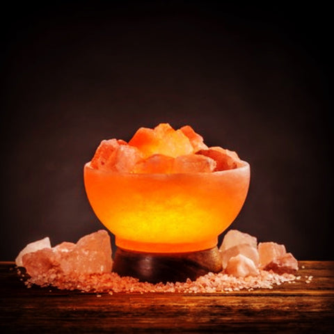 Fire Bowl Shape Salt Lamp