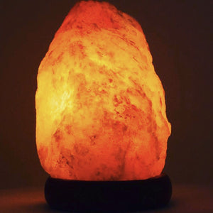 Natural Shape Salt Lamp - 3 - 5kg