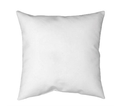 Square Spun Polyester Pillow