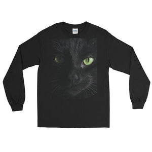 Long Sleeve T-Shirt Black Cat