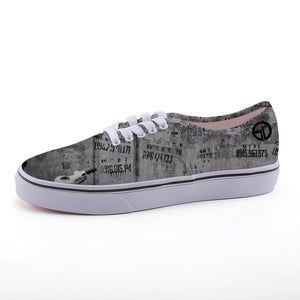 Suede BW print Sneakers
