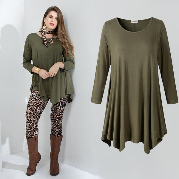 womens casual tunic tops for leggings