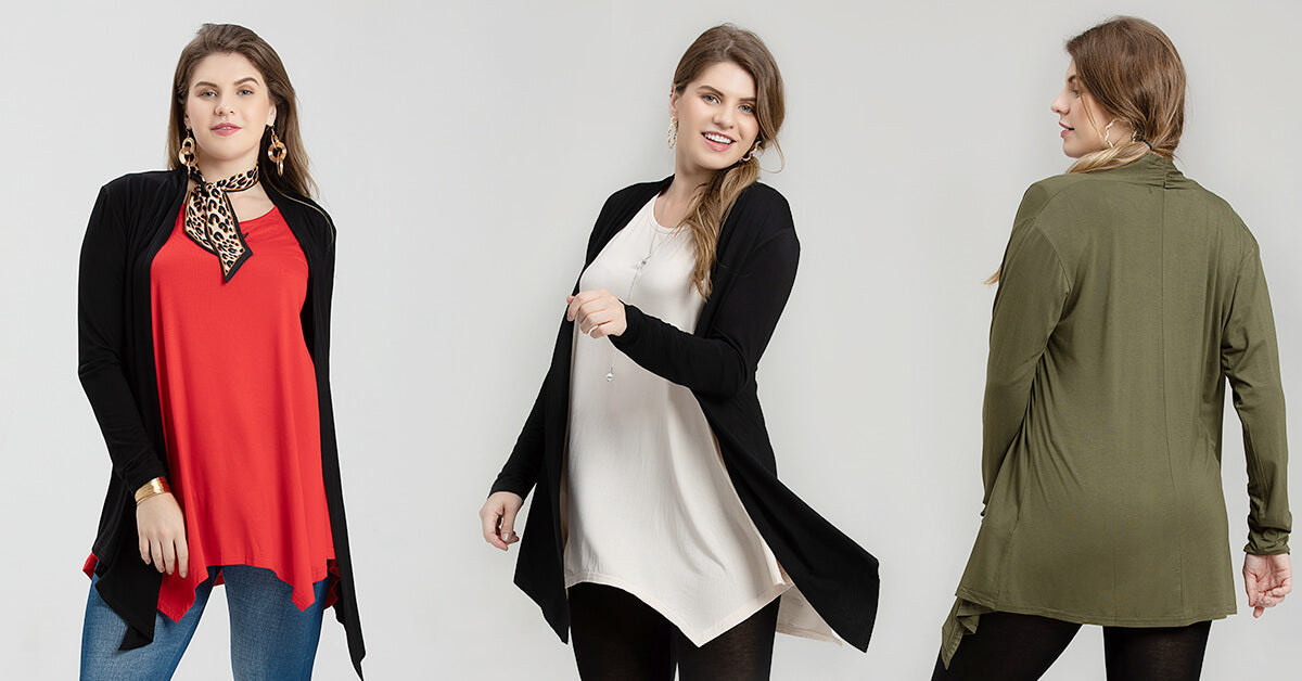Long Sleeve Lightweight Cardigans