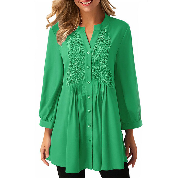 Chiffon Long Blouse