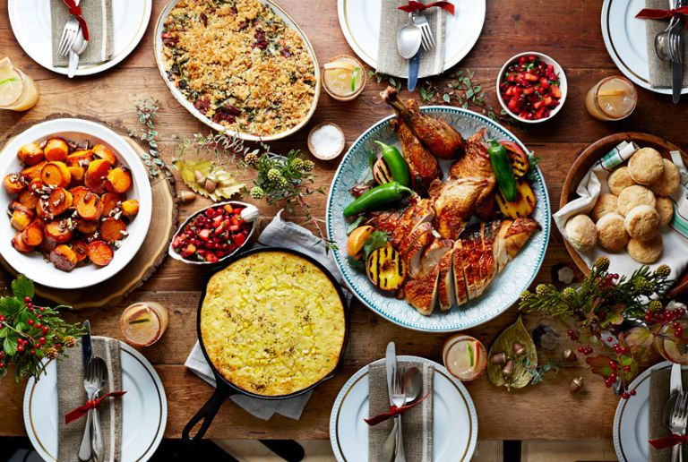 8 thanksgiving-rustic-food