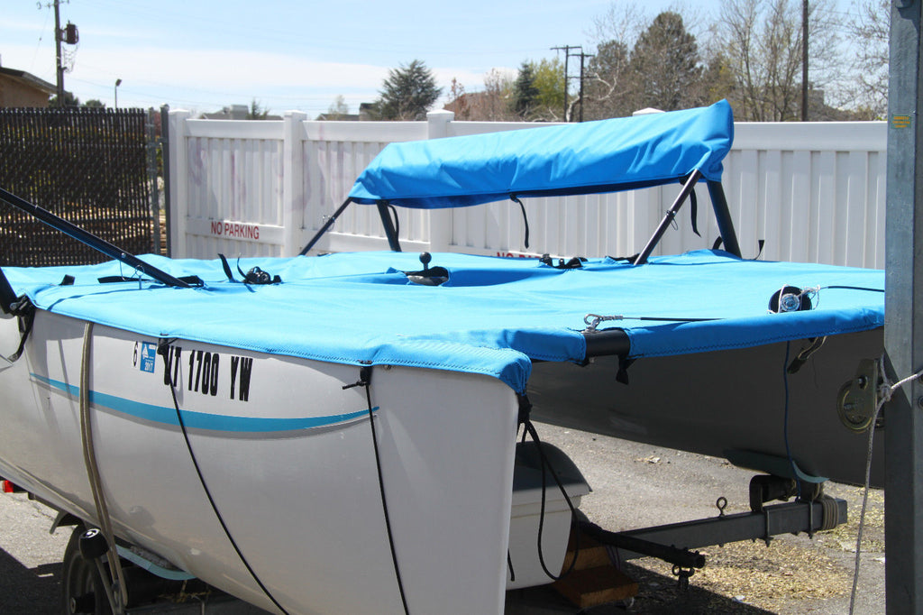 Hobie Getaway Trampoline Covers, Front Trampoline, Main Trampoline and Wing Trampoline Covers