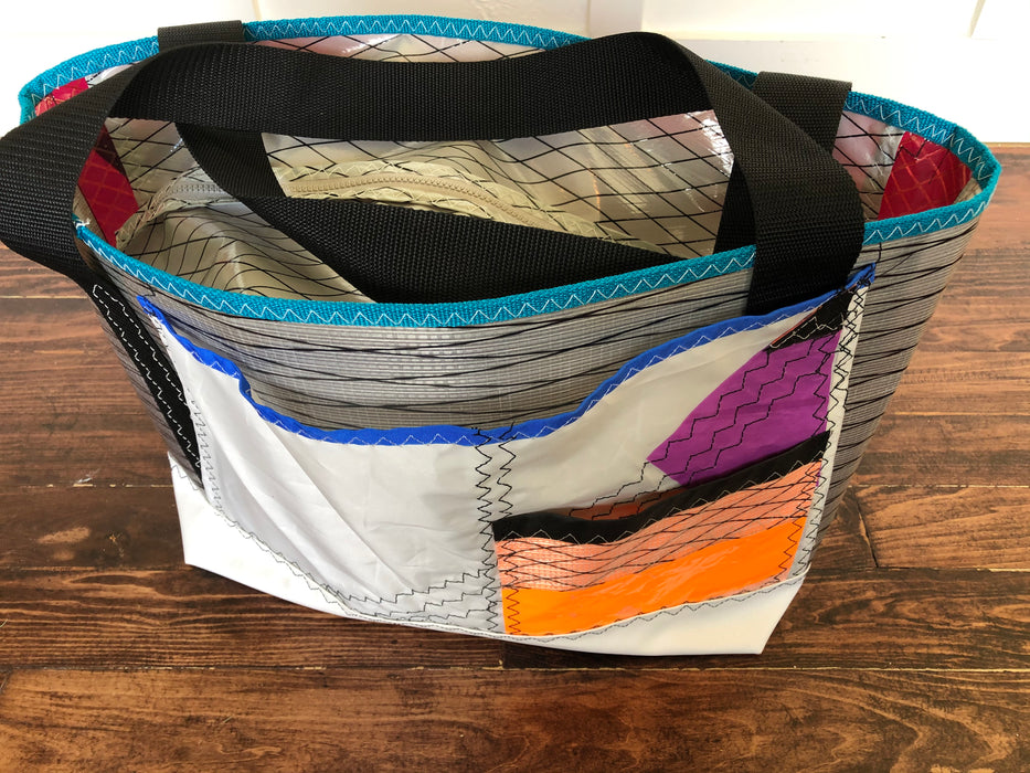 Sailcloth tote bag #111