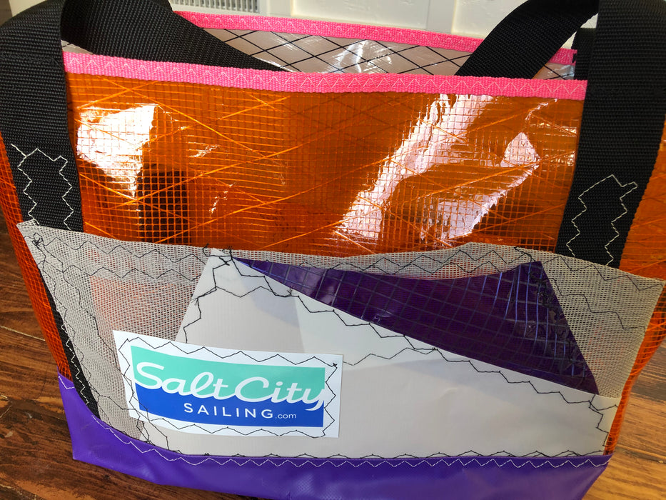 Sailcloth tote #120