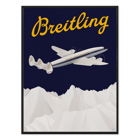 Breitling | Super Constellation C-121C | HB-RSC