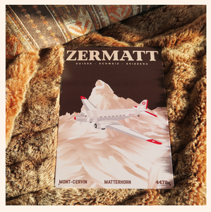 Zermatt - Metal Sign - 26x40