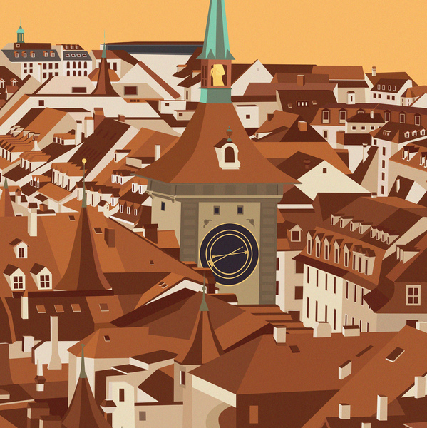 Bern | Old City | Zytglogge | 50 pieces Limited Edition | Poster-Art