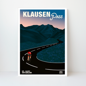 Klausen Pass | 42x59 | 50 pieces Limited edition | Poster-Art