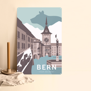 Bern - Decorative Metal Sign - 26x40