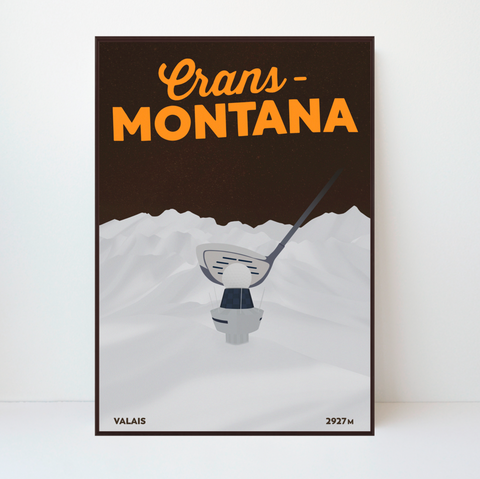 Crans-Montana | Plaine Morte | 50 pieces Limited Edition |