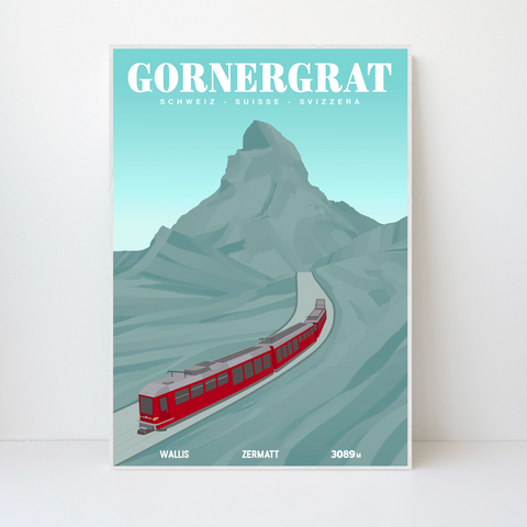 Gornergrat | 59x84 | 25 pieces Limited Edition | Poster-Art