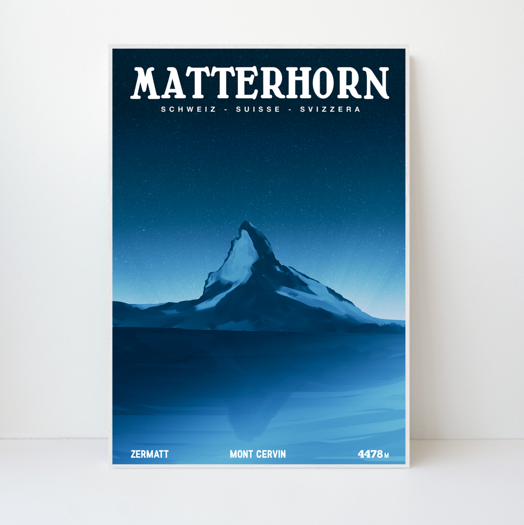 Matterhorn | 59x84 | 25 pieces Limited Edition | Poster-Art