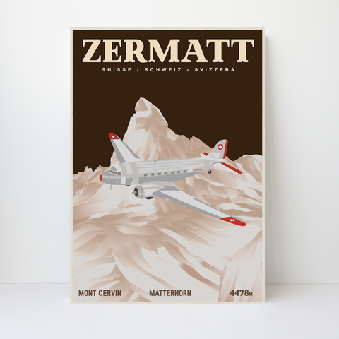 Zermatt | 59x84 | 25 pieces Limited Edition | Poster-Art