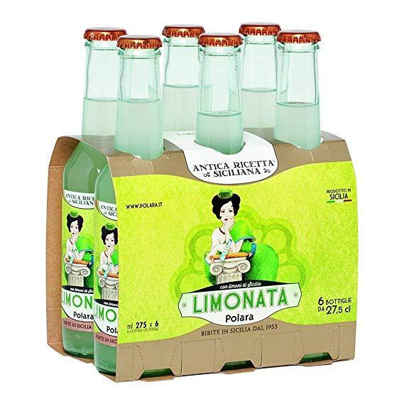 Limonata Polara, Confezione da 6 x 27,5 cl - Food in Sicily