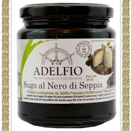 Sugo al Nero di Seppie, 300 gr - Food in Sicily