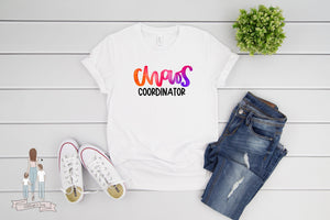 Chaos Coordinator Mother's Day Adult Tee
