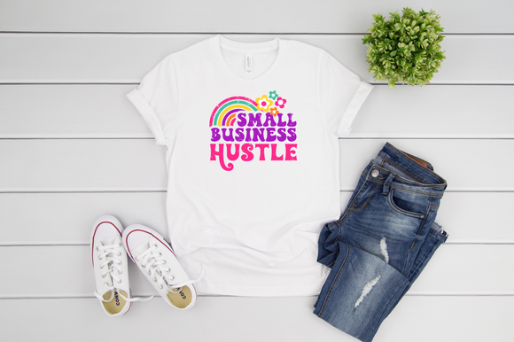 Small Business Hustle Adult Tee