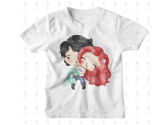 Ariel and Prince Eric Valentine Couple