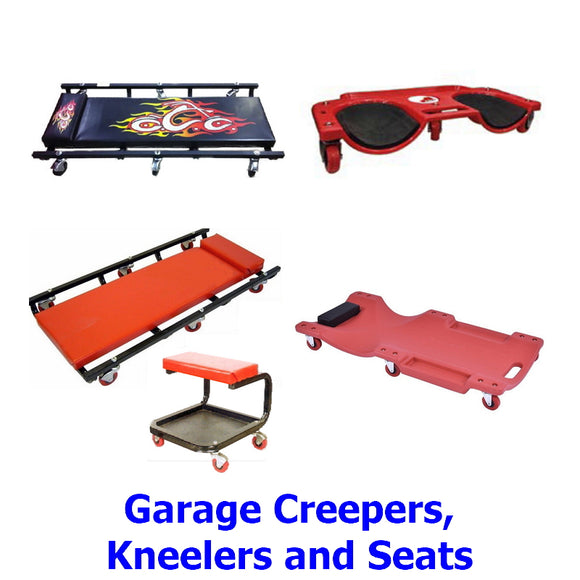 Garage Creepers, Kneelers and Seats