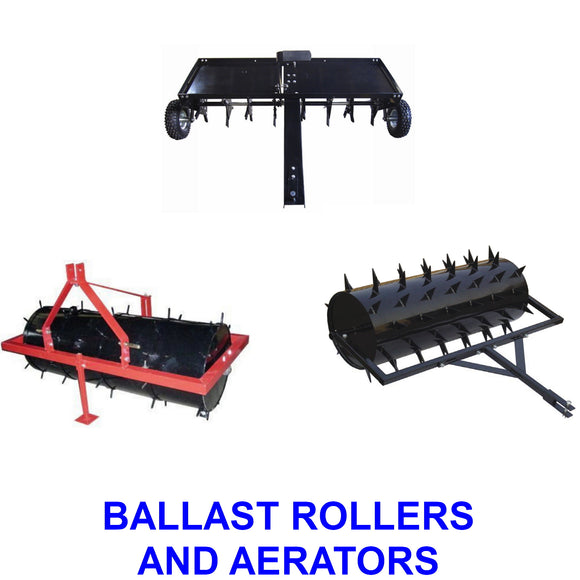 Ballast Rollers and Aerators