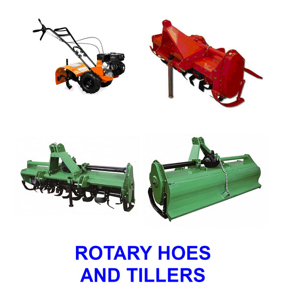 Rotary Hoes / Tillers
