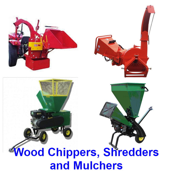 Wood Chippers, Shredders and Mulchers