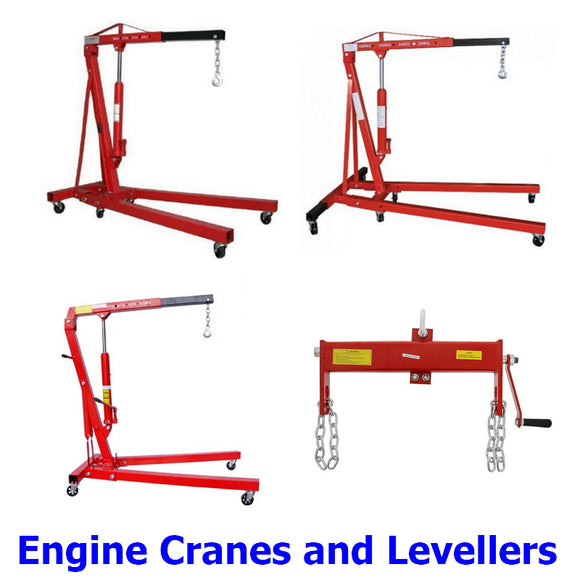 Engine Cranes and Levellers