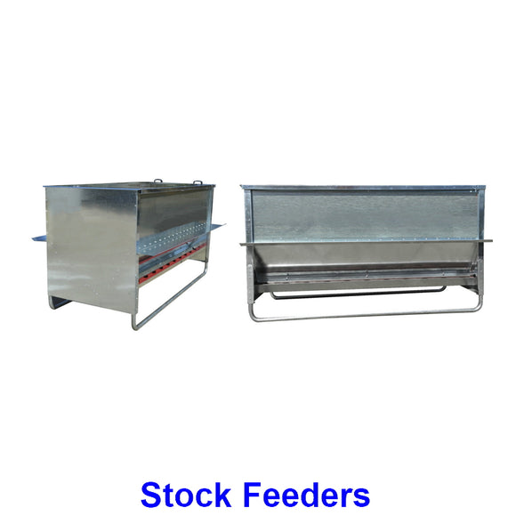 Stock Feeders. A collection of top quality stock feeders to help automate special feeding needs on the farm.