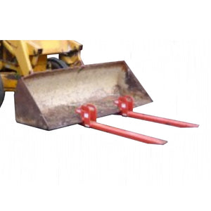 Millers Falls 450kg Front End Loader Bucket Clamp On Fork Extensions #BF450 1