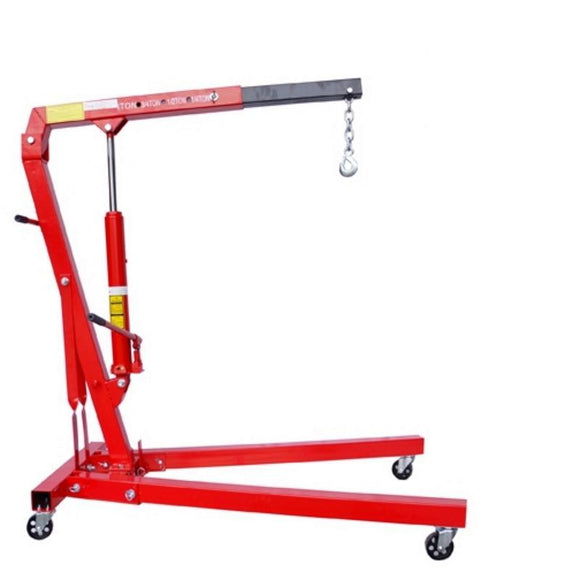 Millers Falls TWM Engine Crane 1000kg (1.1 Ton) Hydraulic Foldable #CR1TF 1