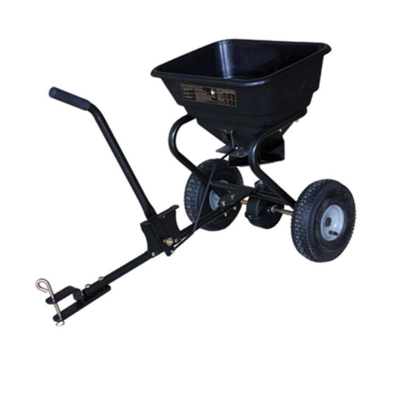 Millers Falls TWM Rotary Seed and Fertiliser Spreader 30kg(26L) Capacity Tow Behind ATV #FIS110S 1