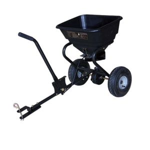Millers Falls TWM Rotary Seed and Fertiliser Spreader 56kg(60L) Capacity Tow Behind ATV #FIS112S 1