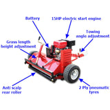 Millers Falls 1500mm Offsettable Tow Behind Flail Mower Mulcher #FIAT150 6