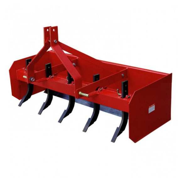 Millers Falls TWM 1500mm (5ft) Box Grader Blade with Rippers 3 Point Linkage Dual Blade #FIBB5 1