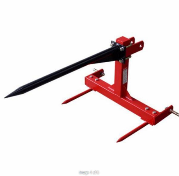 Millers Falls Adjustable 675kg Hay Bale Spear #FIBS1500HD 1