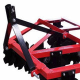 Millers Falls TWM Disc Harrow Plough Cultivator 1570mm (5ft) Cat 1 3 Point Linkage #FIDHQB150 4