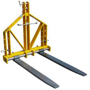 TWM Millers Falls 3 Point Linkage 700kg Forklift Attachment Steel Frame #FIFATT 1