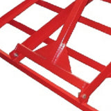 Millers Falls TWM 3000mm 3 Point Linkage Land Levelling Smudge Bar for Tractors #FILLB103P 3