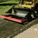 Millers Falls TWM 2400mm Land Levelling Smudge Bar for 4 in 1 Front End Loader or Bobcat Bucket #FILLB8 5