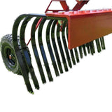 Millers Falls TWM 1800mm Towable Landscape Stick Hay Rake ATV Quad Bike Ride On Mower 4x4 #FILRATV6 6