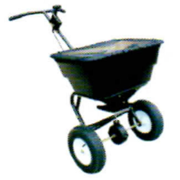 Millers Falls TWM Rotary Seed and Fertiliser Spreader 50kg Capacity Walk Behind #FIS50WB 1