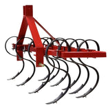 Millers Falls TWM S Tine Cultivator Plough 1200mm (4ft) Cat 1 3 Point Linkage Adjustable Offsettable #FISC4 3