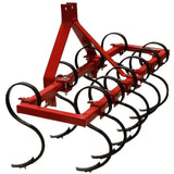 Millers Falls TWM S Tine Cultivator Plough 1200mm (4ft) Cat 1 3 Point Linkage Adjustable Offsettable #FISC4 4