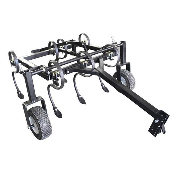 Millers Falls TWM S Tine Cultivator Plough 1200mm (4ft) Tow Behind ATV Adjustable Tines and Hitch #FISCATV 1