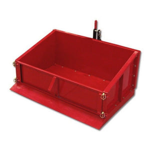 TWM Millers Falls Carry All Tipping Box 1500mm Wide Heavy Duty Steel 650kg Capacity #FITB150HD 1